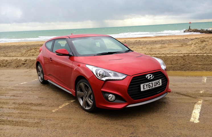 Hyundai Veloster Turbo S front