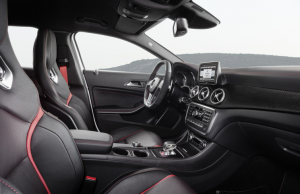 Mercedes-Benz GLA45 AMG inside