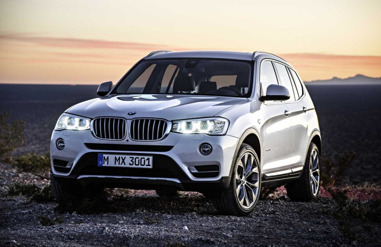2014 BMW X3 front
