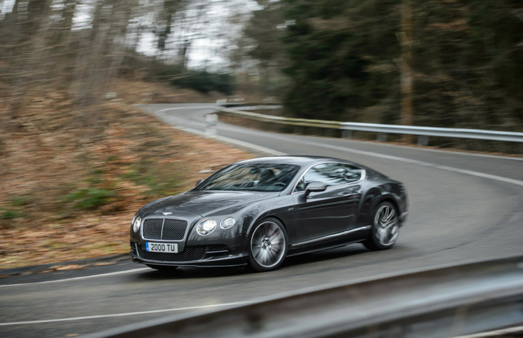 2014 Bentley Continental GT Speed front