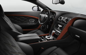 2014 Bentley Continental GT Speed inside