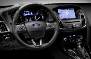2015 Ford Focus inside