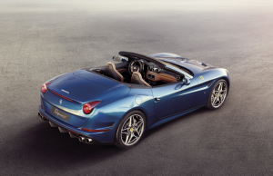 Ferrari California T blue rear
