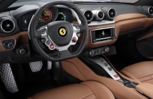 Ferrari California T inside