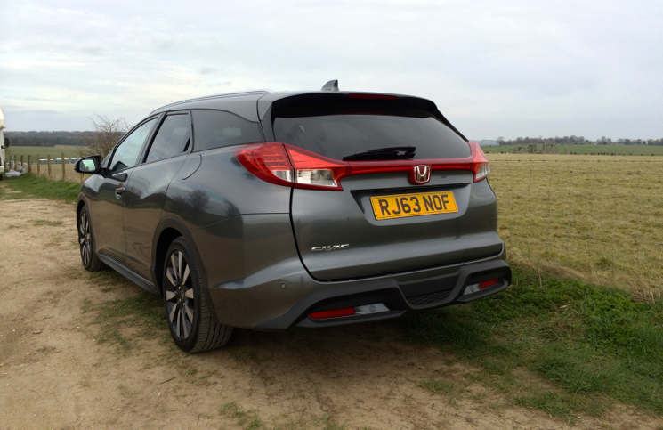 2014 Honda Civic Tourer SR rear