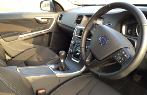 Volvo V60 D2 Business Edition inside