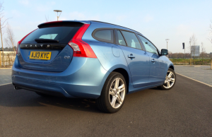 Volvo V60 D2 Business Edition rear