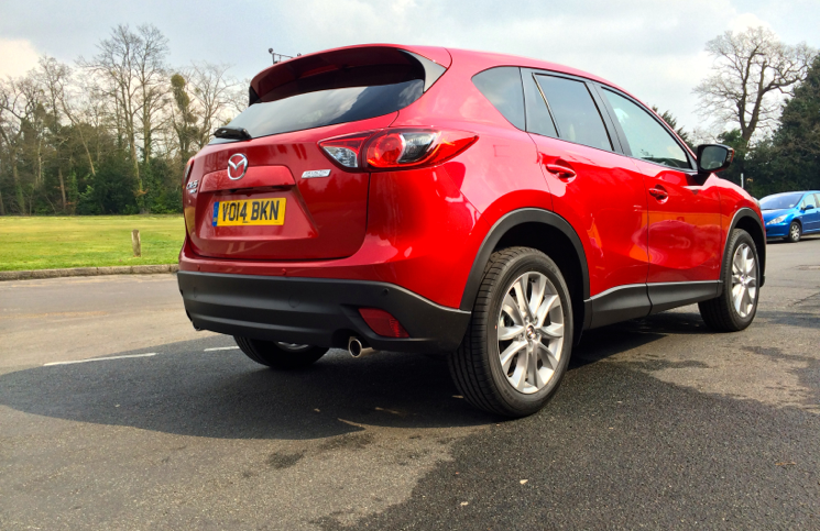Obviously The 2WD 2014 Mazda CX 5 175ps AWD Sport Nav Rear