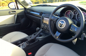 2014 Mazda MX-5 Roadster Coupe Sport Venture Edition inside