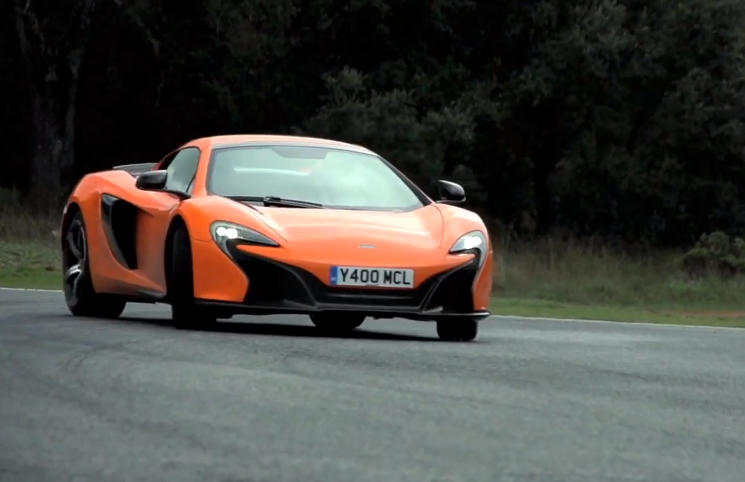 McLaren 650S Chris Harris