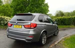 2014 BMW X5 xDrive40d M Sport rear