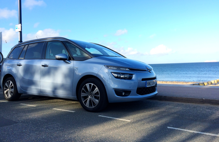 2014 Citroen C4 Grand Picasso Exclusive e-HDi 115 Airdream front