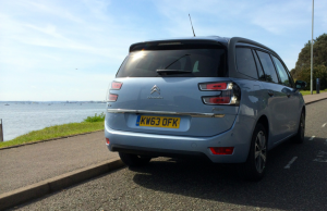 2014 Citroen C4 Grand Picasso Exclusive e-HDi 115 Airdream rear