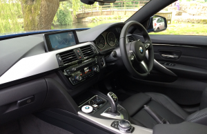 BMW 4 Series Gran Coupe 428i M Sport inside