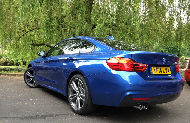 BMW 4 Series Gran Coupe 428i M Sport rear