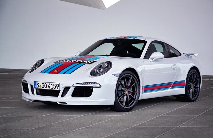 Porsche 911 Martini Racing Edition