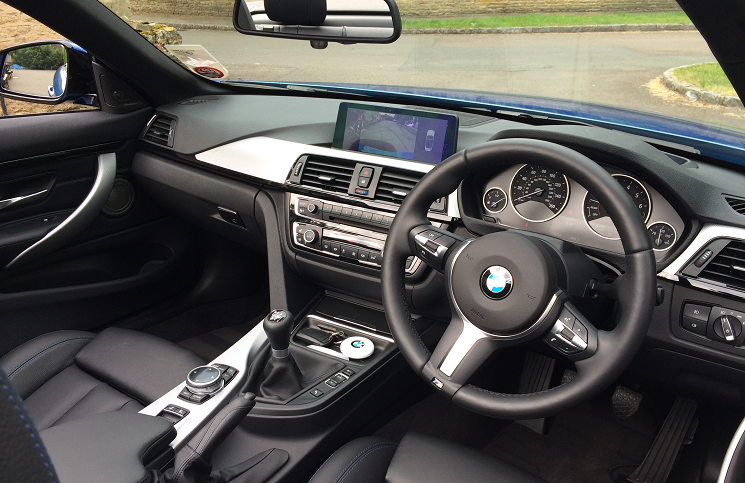 Review BMW I M Sport Convertible Inside Lane - Bmw 435i convertible m sport