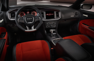 Dodge Charger SRT Hellcat inside