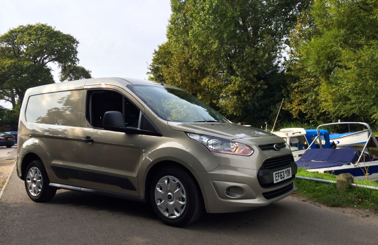 2014 Ford Transit Connect front