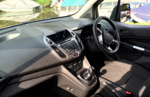 2014 Ford Transit Connect inside