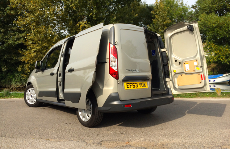 2014 Ford Transit Connect rear door
