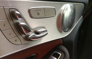 2014 Mercedes-Benz C-Class 220 BlueTEC AMG Line door controls