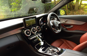 2014 Mercedes-Benz C-Class 220 BlueTEC AMG Line inside