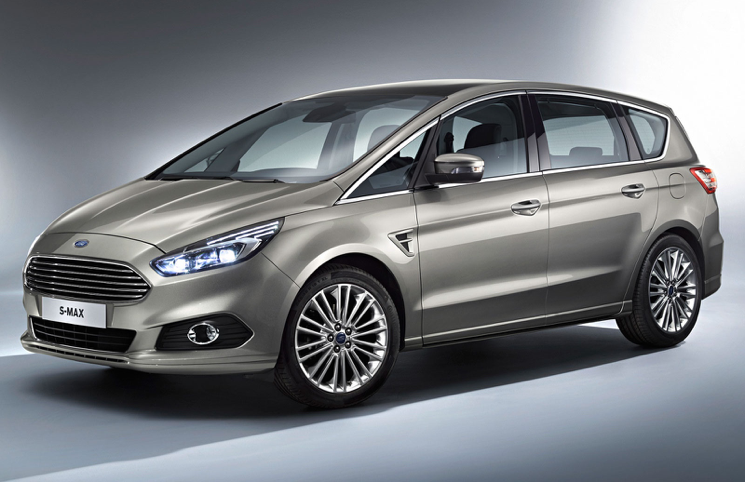 2015 Ford S-Max front