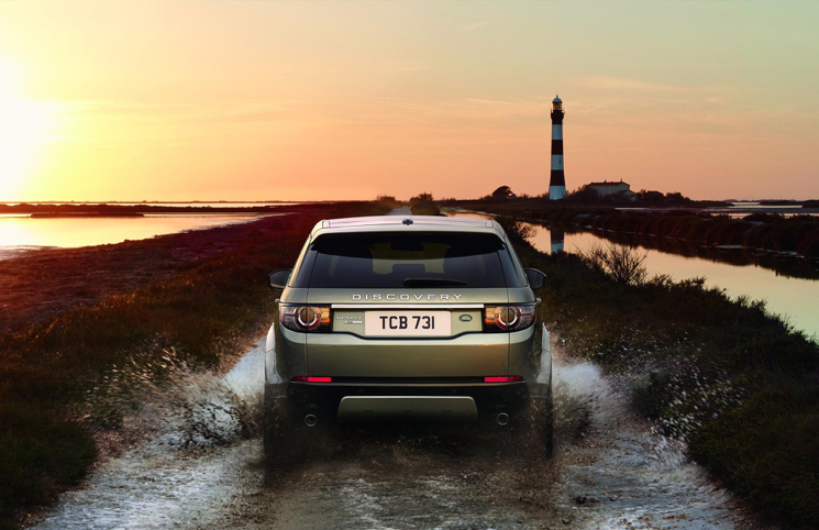 2015 Land Rover Discovery Sport rear
