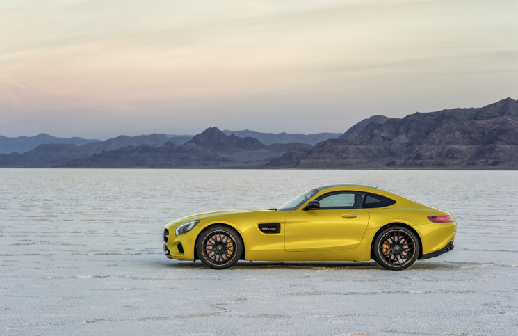 Mercedes-AMG GT profile