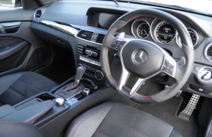 Mercedes-Benz C63 AMG Coupe Black Series inside