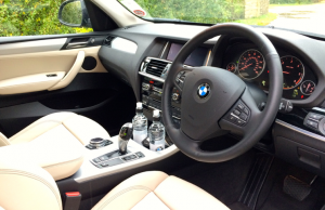 2014 BMW X3 sDrive 18d SE inside