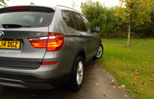2014 BMW X3 sDrive 18d SE rear