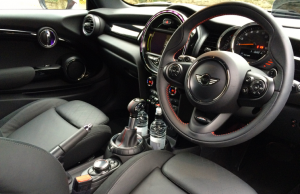 2014 Mini Cooper SD inside