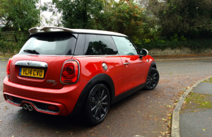 2014 Mini Cooper SD rear