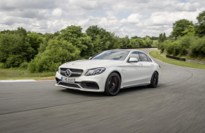 Mercedes-AMG C63 front