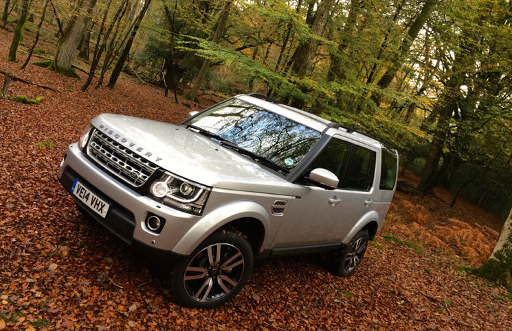 2014 Land Rover Discovery HSE Luxury front