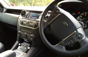 2014 Land Rover Discovery HSE Luxury inside