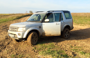 2014 Land Rover Discovery HSE Luxury mud