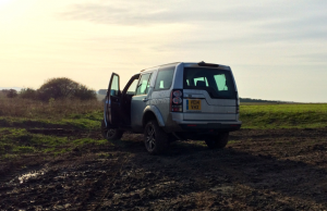 2014 Land Rover Discovery HSE Luxury rear
