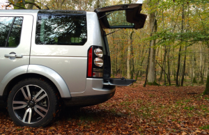 2014 Land Rover Discovery HSE Luxury tailgate