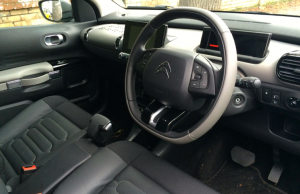 Citroen Cactus Flair e-HDi 92 ETG inside