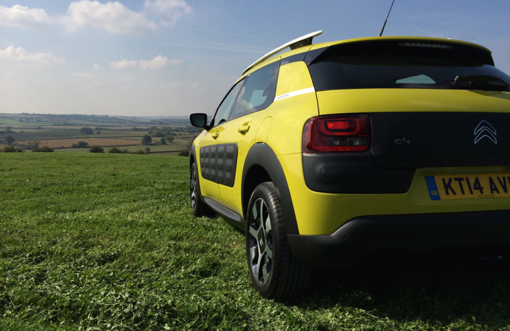 Citroen Cactus Flair e-HDi 92 ETG rear
