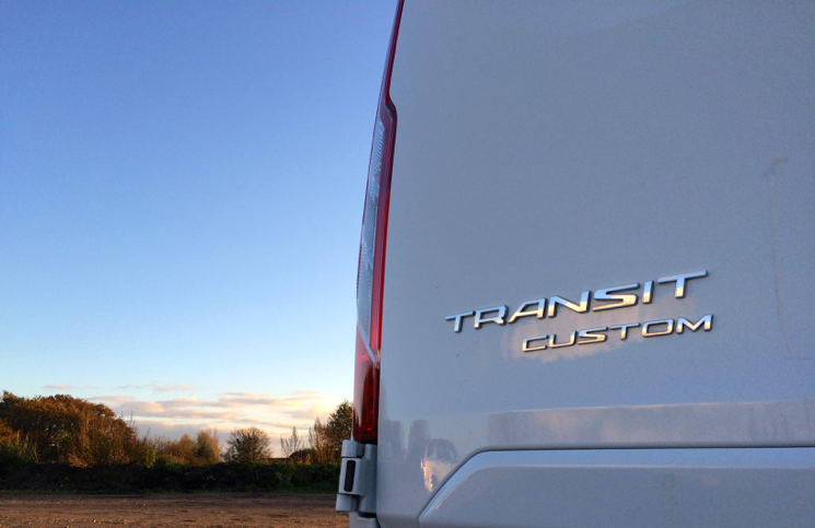 Ford Transit Custom Double-Cab-in-Van LWB TDCi logo