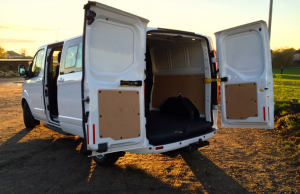 Ford Transit Custom Double-Cab-in-Van LWB TDCi rear