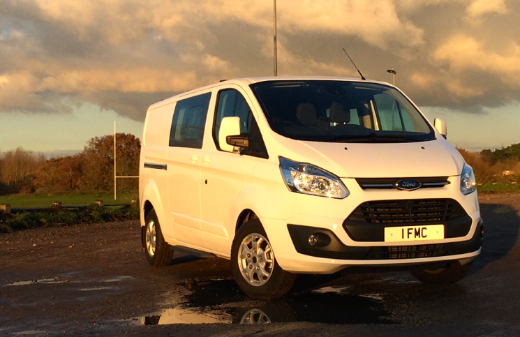 Ford Transit Custom Double-Cab-in-Van LWB TDCi