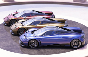 Pagani Huayra Dinastia Edition collection