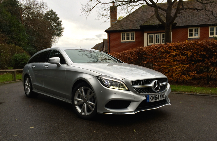 2015 Mercedes-Benz CLS SHOOTING BRAKE 350 BlueTEC AMG Line front