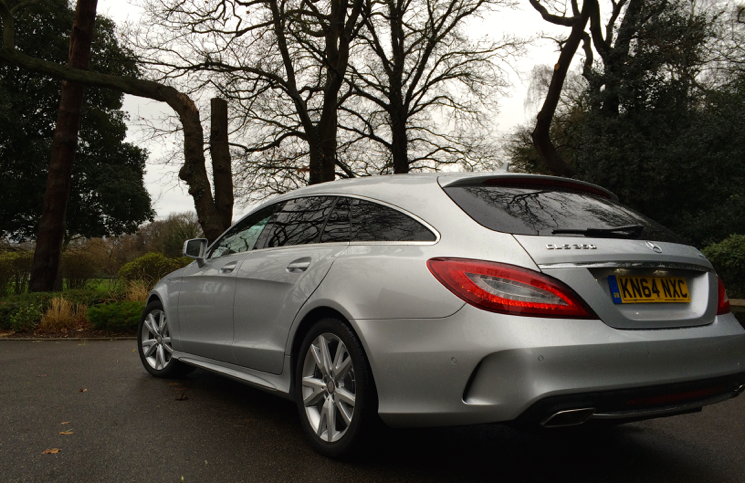 2015 Mercedes-Benz CLS SHOOTING BRAKE 350 BlueTEC AMG Line rear