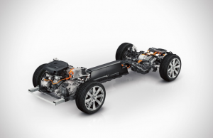 Volvo XC90 TD chassis